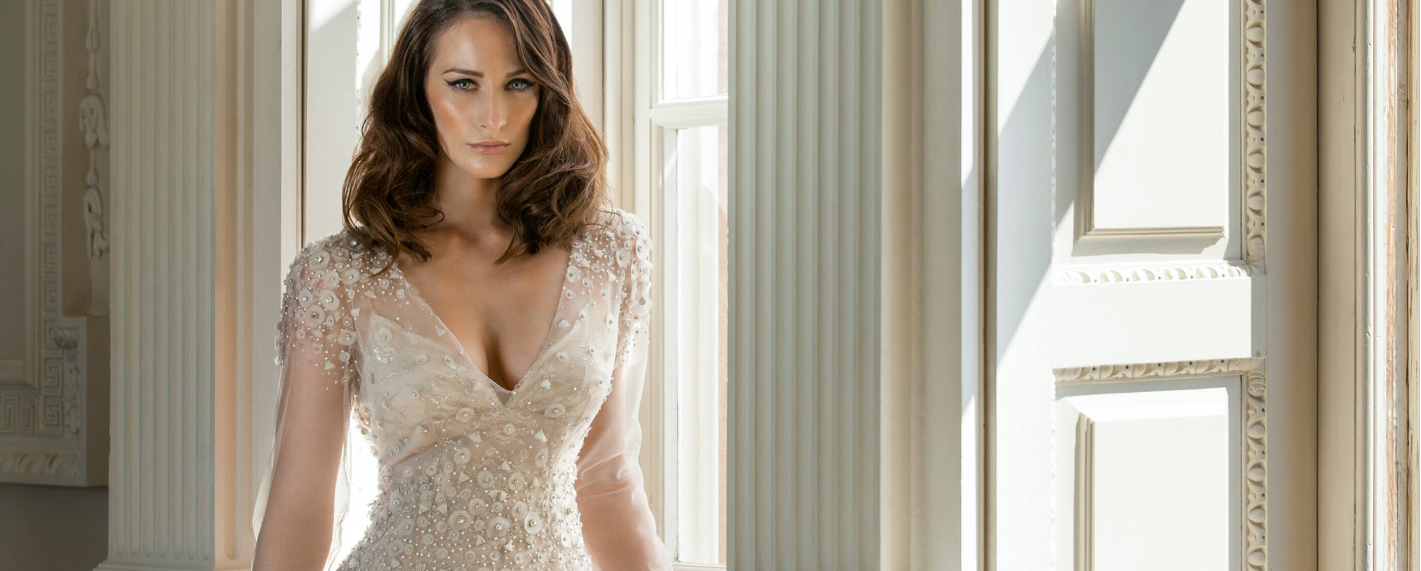 Photo of model wearing Eleganza Sposa Special Occasion Dress
