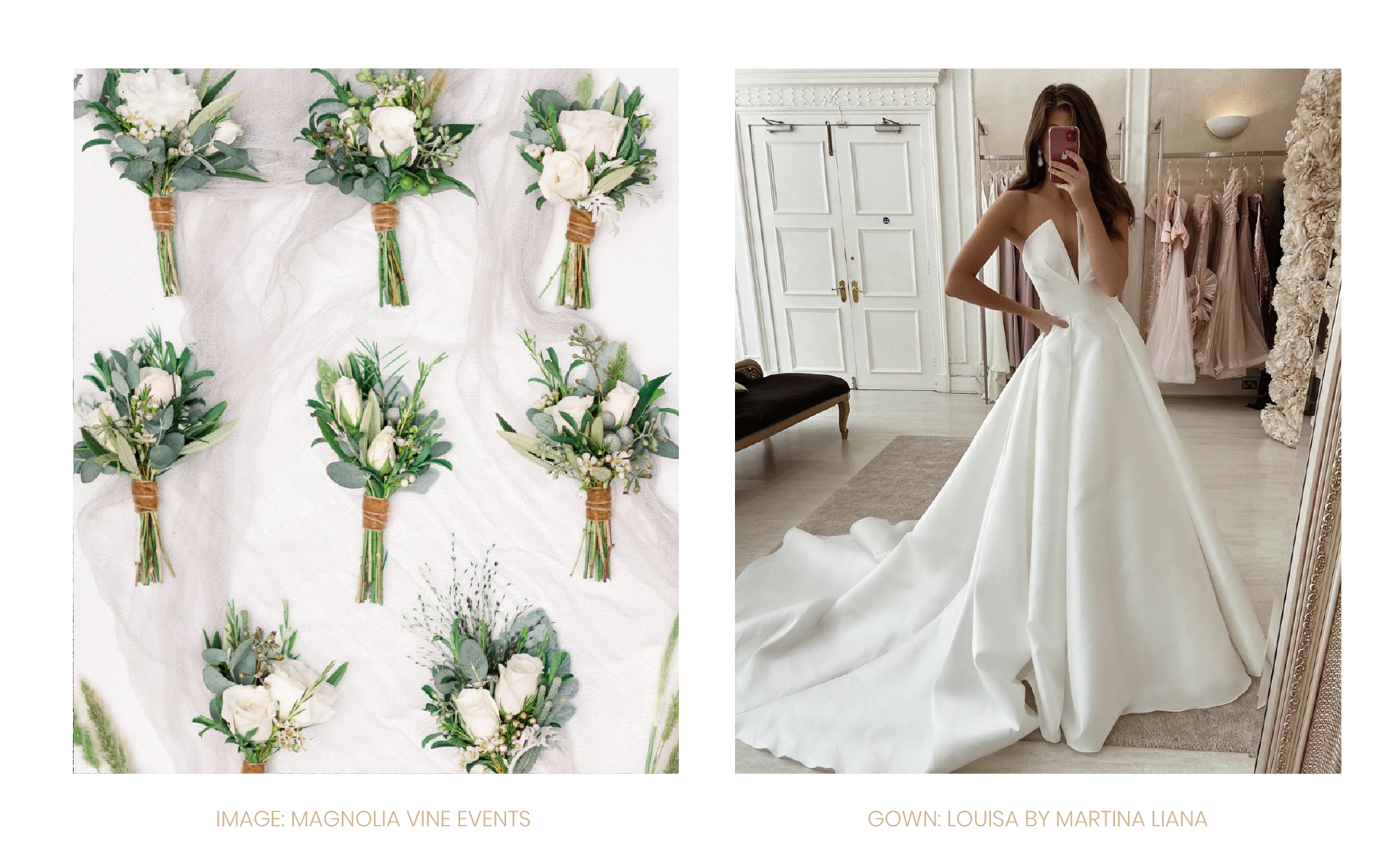 ELEGANZA INSPIRATION: The Minimalist Wedding. Desktop Image