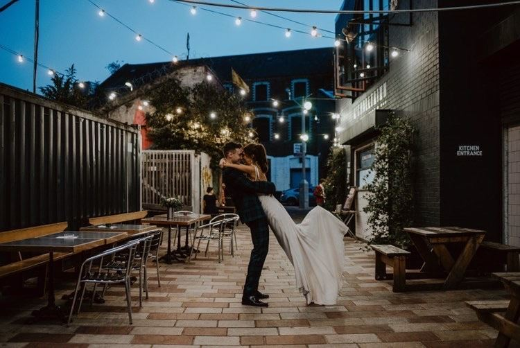 Dance The Night Away: Eleganza Real Bride Kerry Wears Suzanne Neville Image