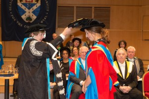 MD of Eleganza Sposa recieves Honorary Degree. Mobile Image